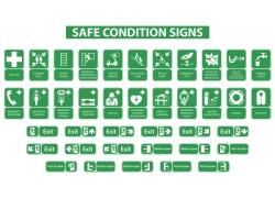 绿色医疗标识牌设计