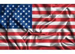 美国旗帜素材图