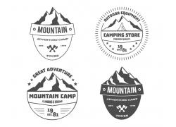 野营登山标志
