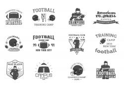 橄榄球主题标签