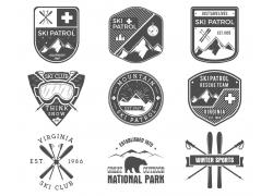 滑雪主题标签