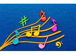 音乐符橡皮泥