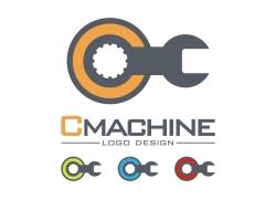 扳手工具logo