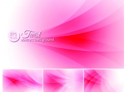 粉红色飘带背景英文