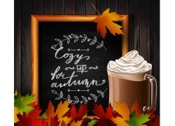 秋季促销广告背景