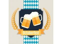 卡通啤酒节海报图片