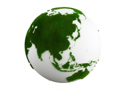 绿色生态地球