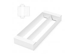 白色长方形纸盒