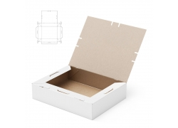 纸盒设计效果图
