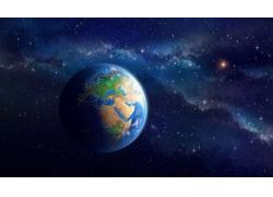 繁星和地球