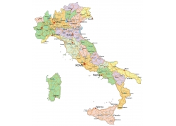 彩色地图设计图片