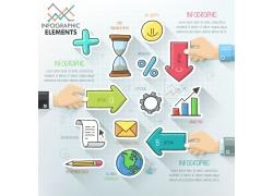 商务金融图标图表
