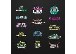 创意音乐商标设计