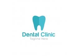 牙齿商标设计