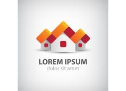 卡通房子logo设计