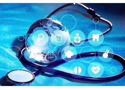 医生器械与医学图标