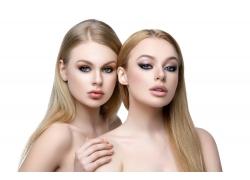 美丽的两位女孩