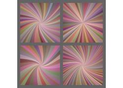 彩色线条旋转抽象背景