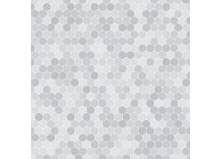 灰色六边形时尚背景