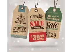 圣诞促销卡片