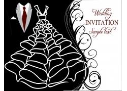婚礼邀请函漫画