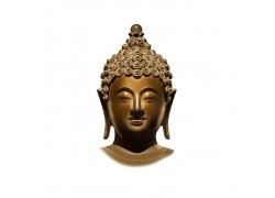 佛像的头部