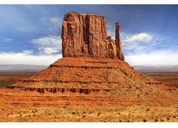 荒漠中的石头