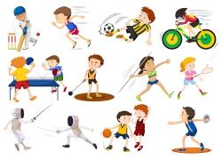各种各样的体育运动