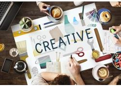 设计图和职业人物