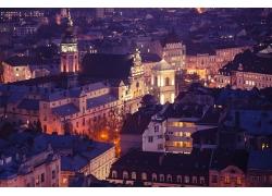 美丽的乌克兰夜景