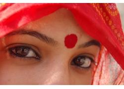 印度女人的眼睛