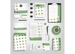 绿色企业标识设计素材