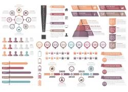 现代信息图标设计图案