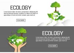 平面设计生态横幅