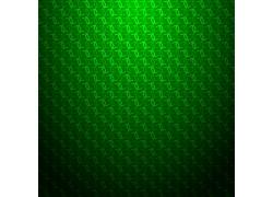 绿色立体背景设计