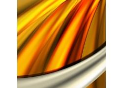 橙色立体背景