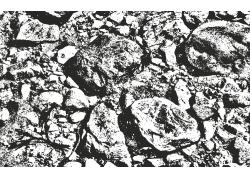 石头墙壁复古背景