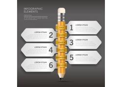 卡通教育信息图设计素材