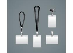 创意工作牌设计素材
