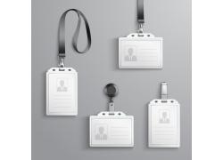 工作胸卡设计样式