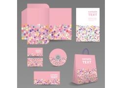 粉色包装模板设计