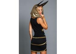 埃及装制服美女
