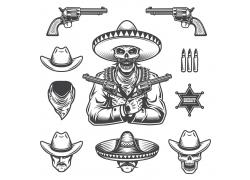 枪只与骷髅