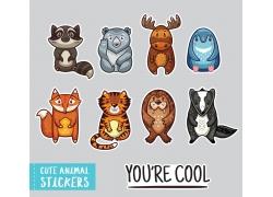 可爱的卡通动物图片