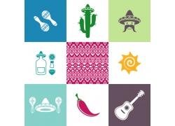 墨西哥元素图标
