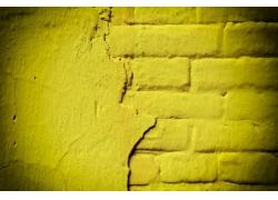 黄色墙壁背景