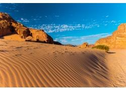 天空沙漠自然风光背景