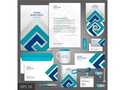 蓝色企业VI设计