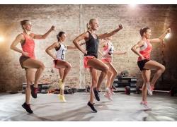 体育运动健身人物摄影图片