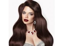美发时尚美女摄影
